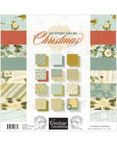 "12 Desig Couture Creations Double-Sided Paper Pad 12/""X12/"" 24//Pkg-Seaside And Me"